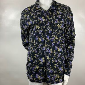 3For$20 Imperial Motion Floral Blouse Size:M